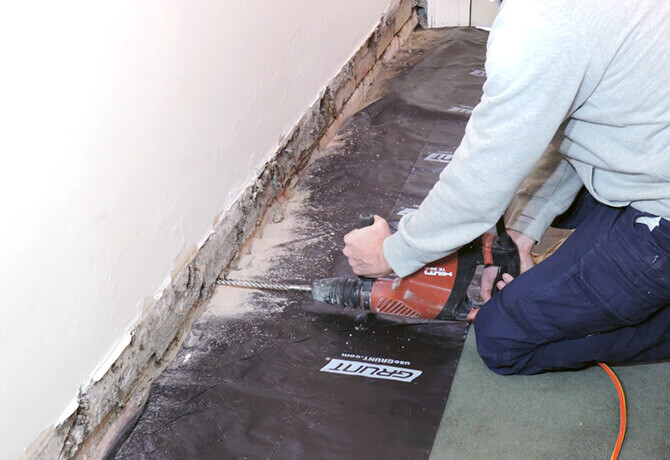 damp course proofing