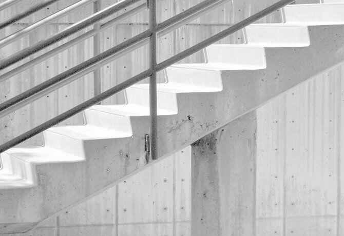 rejuvenate concrete stairwells