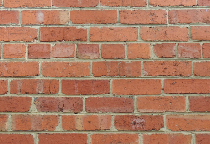 repointed wall